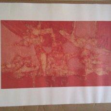 Art: SERIGRAFIA LAMINA CESAR MANRIQUE CALOR DE LA TIERRA 1992 FUNDACION CESAR MANRIQUE.. Lote 265510369