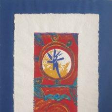 Arte: IGNASI ESTEVA BOSCH (GERONA, 1963) - SIN TITULO.SERIGRAFIA.FIRMADA.1995.. Lote 267177524