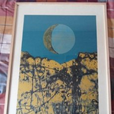 Arte: JOAN JOSEP THARRATS (GIRONA 1918-BARCELONA, 2001) SERIGRAFÍA 1989 DE 60X47 BIEN ENMARCADA A 77X56CM. Lote 268877209
