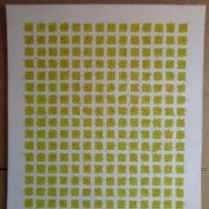 Arte: JUAN TOMÁS DOMINGUEZ (1949) SERIGRAFÍA 1977 DE 50X70 FIRMADA LÁPIZ Y NUMERADA. Lote 268896574