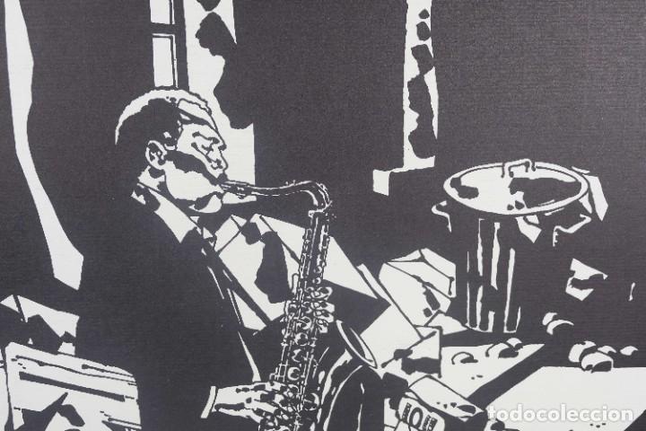 Arte: Serigrafía Comes Blues. La ultima edición. 1000 editions. - Foto 2 - 269748408