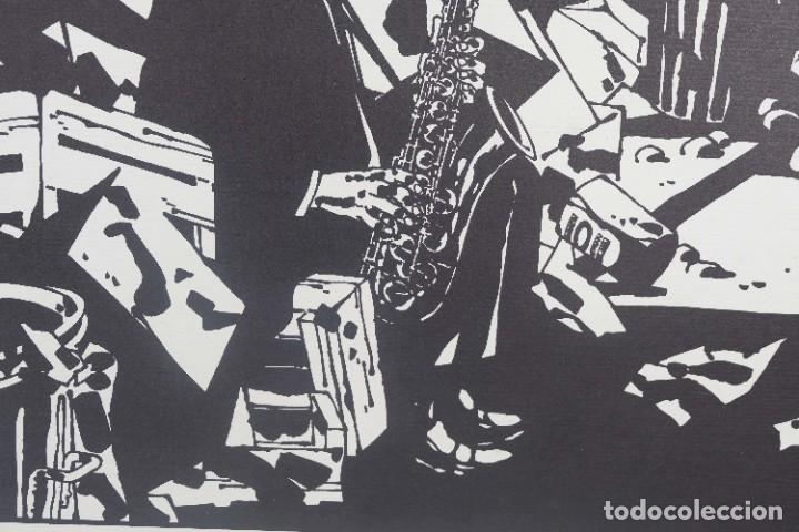 Arte: Serigrafía Comes Blues. La ultima edición. 1000 editions. - Foto 3 - 269748408
