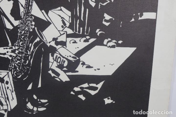 Arte: Serigrafía Comes Blues. La ultima edición. 1000 editions. - Foto 4 - 269748408