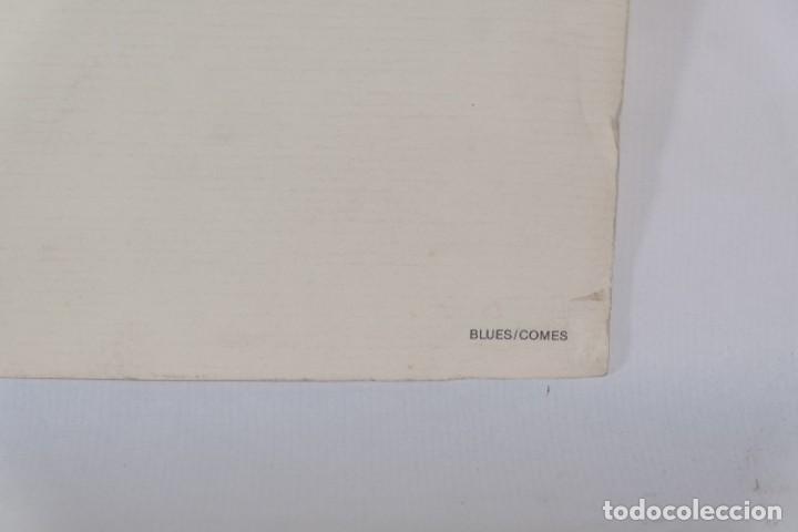 Arte: Serigrafía Comes Blues. La ultima edición. 1000 editions. - Foto 8 - 269748408