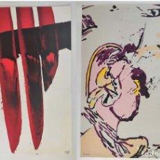Art: LOTE LUIS FEITO Y ALFONSO BONIFACIO. SERIGRAFIAS ORIGINALES.. Lote 270170858