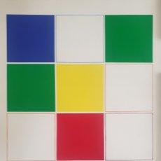 Arte: WALDO BALART (CUBA, 1931) - MÓDULOS.FIRMADA.75 EJEMPLARES.1989.. Lote 270957923