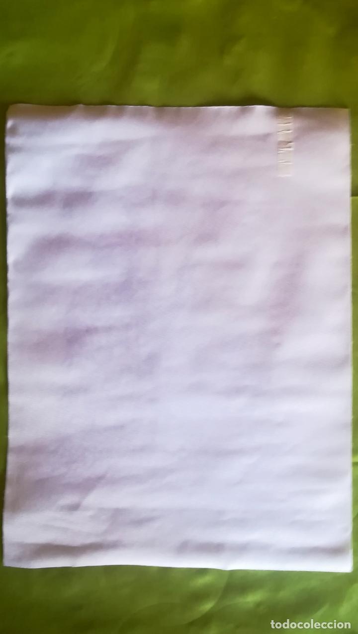 Arte: Obra Pablo Picasso, Don Quijote y Sancho , Screenprint, Serigrafia sobre Lona lienzo,Tamaño 48 x 37 - Foto 5 - 272512758