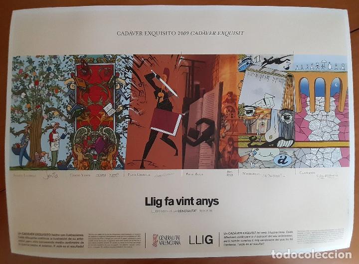 LLIG FA VINT ANYS - MICHARMUT, SENTO LLOBELL, CALPURNIO...- PERFECTO ESTADO (Arte - Serigrafías )