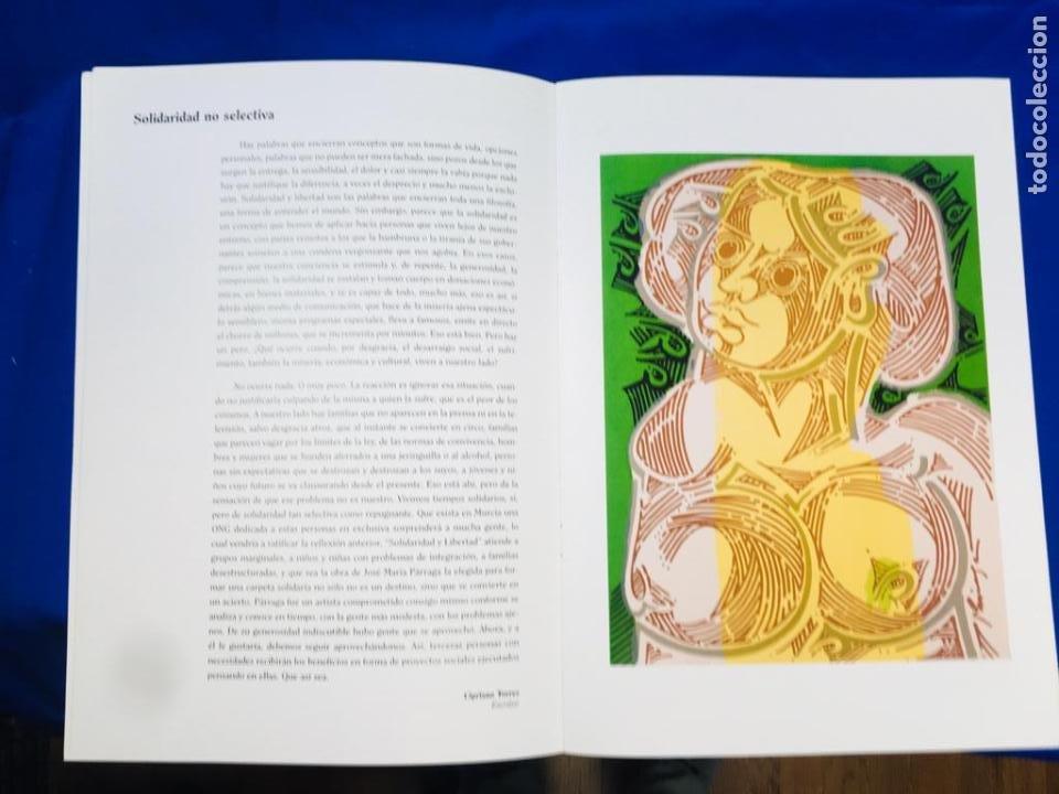 Arte: 5 serigrafias EXPOSICION RECORDANDO A PARRAGA 1999 muñoz barberan, pina nortes avellaneda hernansaez - Foto 4 - 276632263