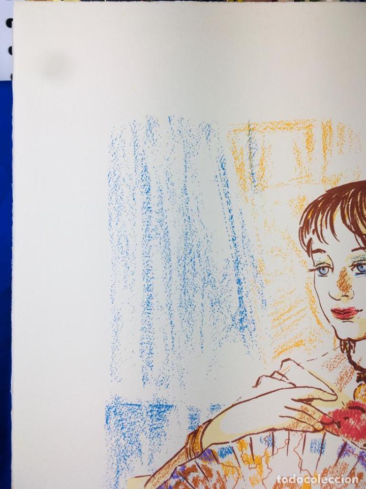 Arte: 5 serigrafias EXPOSICION RECORDANDO A PARRAGA 1999 muñoz barberan, pina nortes avellaneda hernansaez - Foto 6 - 276632263