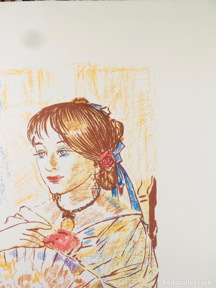 Arte: 5 serigrafias EXPOSICION RECORDANDO A PARRAGA 1999 muñoz barberan, pina nortes avellaneda hernansaez - Foto 7 - 276632263