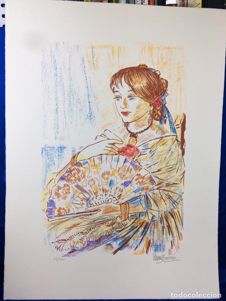 Arte: 5 serigrafias EXPOSICION RECORDANDO A PARRAGA 1999 muñoz barberan, pina nortes avellaneda hernansaez - Foto 12 - 276632263