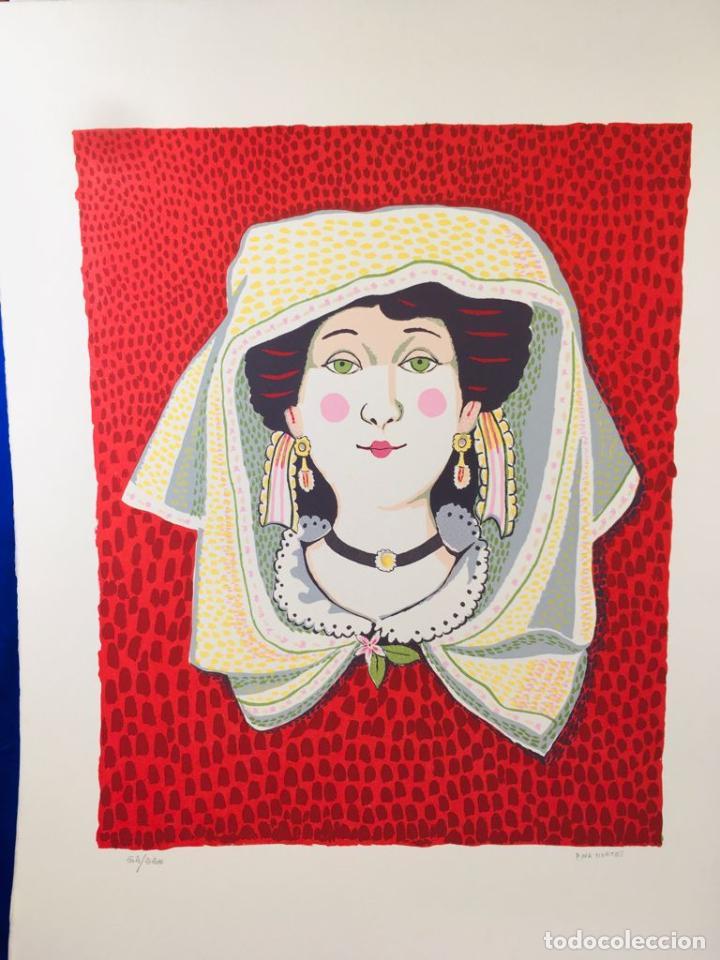 Arte: 5 serigrafias EXPOSICION RECORDANDO A PARRAGA 1999 muñoz barberan, pina nortes avellaneda hernansaez - Foto 13 - 276632263