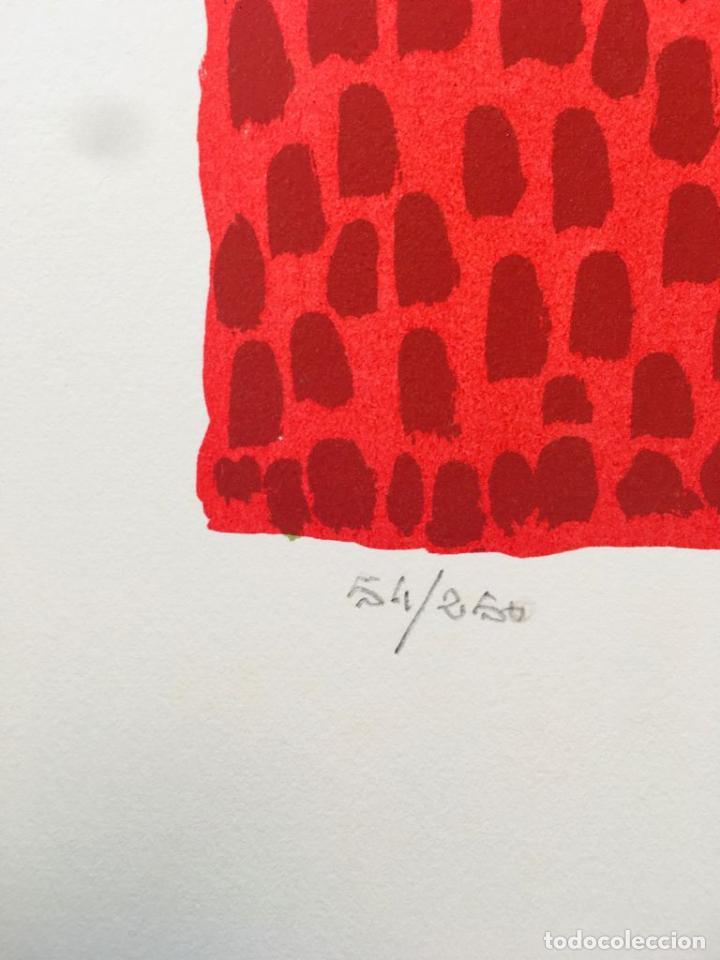 Arte: 5 serigrafias EXPOSICION RECORDANDO A PARRAGA 1999 muñoz barberan, pina nortes avellaneda hernansaez - Foto 15 - 276632263