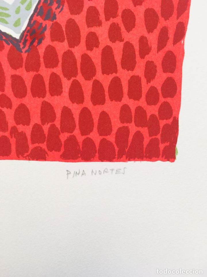 Arte: 5 serigrafias EXPOSICION RECORDANDO A PARRAGA 1999 muñoz barberan, pina nortes avellaneda hernansaez - Foto 17 - 276632263