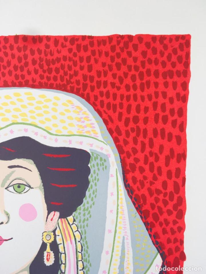 Arte: 5 serigrafias EXPOSICION RECORDANDO A PARRAGA 1999 muñoz barberan, pina nortes avellaneda hernansaez - Foto 18 - 276632263