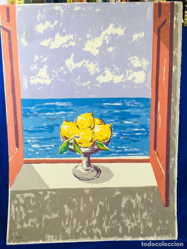 Arte: 5 serigrafias EXPOSICION RECORDANDO A PARRAGA 1999 muñoz barberan, pina nortes avellaneda hernansaez - Foto 22 - 276632263