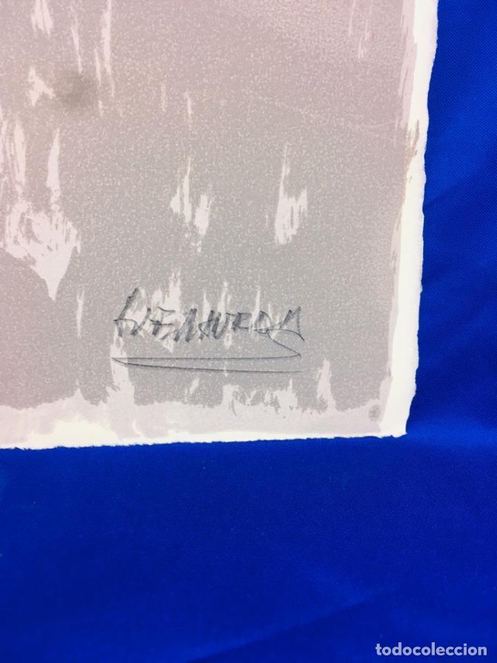 Arte: 5 serigrafias EXPOSICION RECORDANDO A PARRAGA 1999 muñoz barberan, pina nortes avellaneda hernansaez - Foto 23 - 276632263
