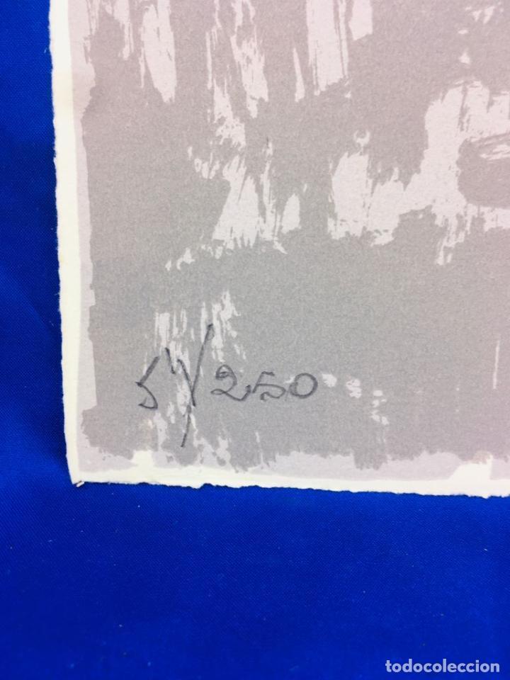 Arte: 5 serigrafias EXPOSICION RECORDANDO A PARRAGA 1999 muñoz barberan, pina nortes avellaneda hernansaez - Foto 24 - 276632263