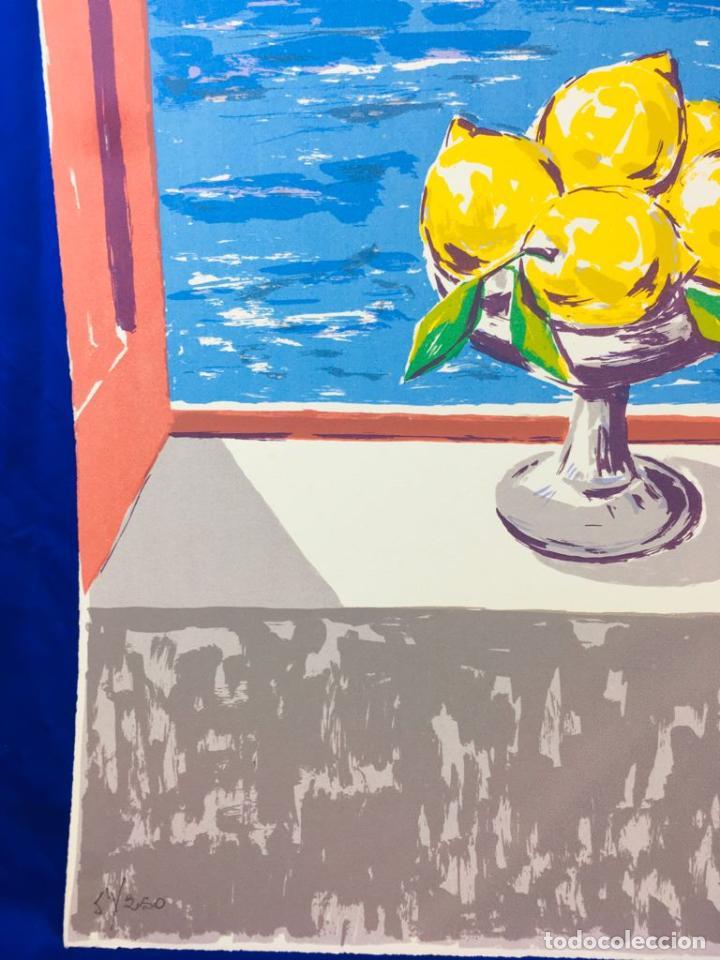 Arte: 5 serigrafias EXPOSICION RECORDANDO A PARRAGA 1999 muñoz barberan, pina nortes avellaneda hernansaez - Foto 25 - 276632263