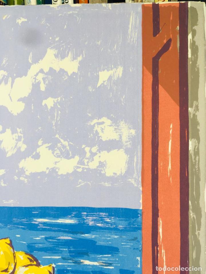 Arte: 5 serigrafias EXPOSICION RECORDANDO A PARRAGA 1999 muñoz barberan, pina nortes avellaneda hernansaez - Foto 26 - 276632263