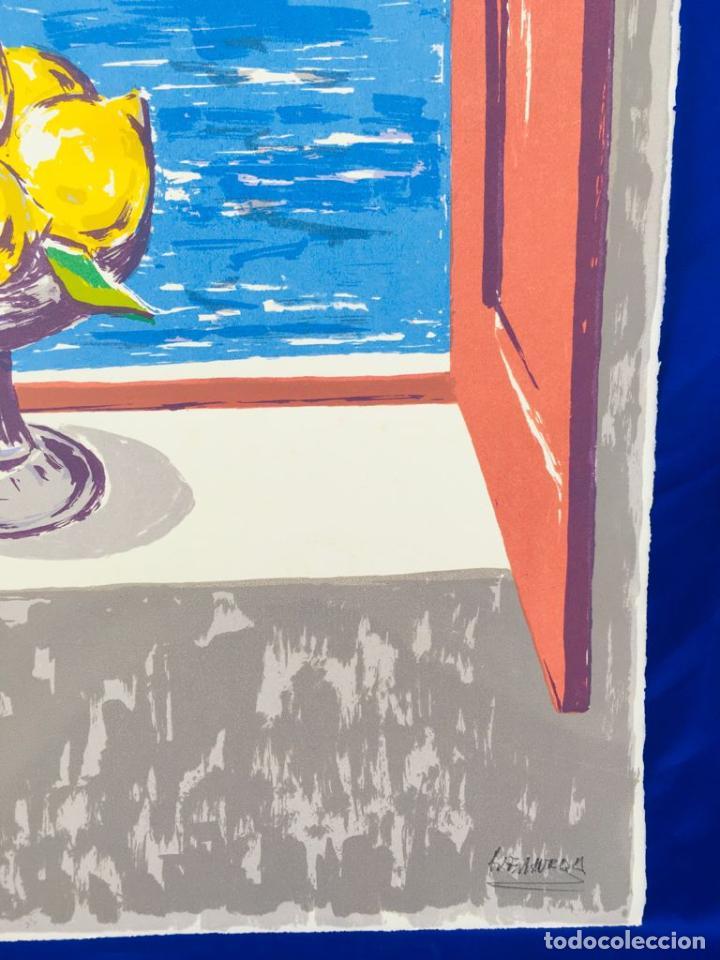 Arte: 5 serigrafias EXPOSICION RECORDANDO A PARRAGA 1999 muñoz barberan, pina nortes avellaneda hernansaez - Foto 28 - 276632263