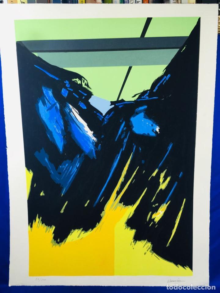 Arte: 5 serigrafias EXPOSICION RECORDANDO A PARRAGA 1999 muñoz barberan, pina nortes avellaneda hernansaez - Foto 31 - 276632263