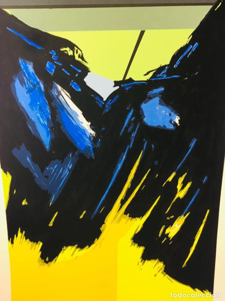 Arte: 5 serigrafias EXPOSICION RECORDANDO A PARRAGA 1999 muñoz barberan, pina nortes avellaneda hernansaez - Foto 34 - 276632263