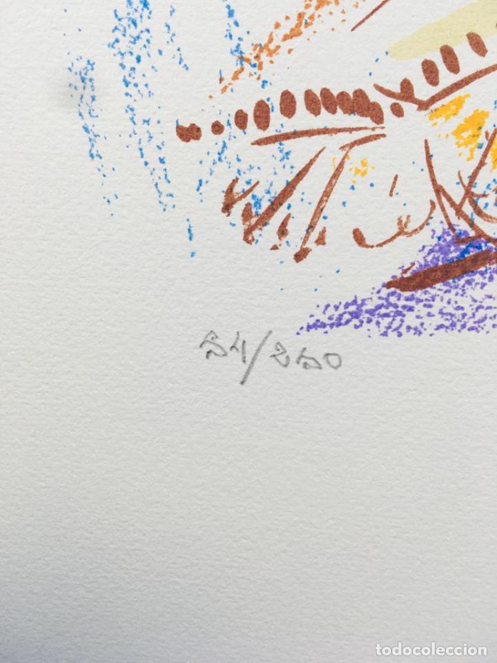 Arte: 5 serigrafias EXPOSICION RECORDANDO A PARRAGA 1999 muñoz barberan, pina nortes avellaneda hernansaez - Foto 42 - 276632263