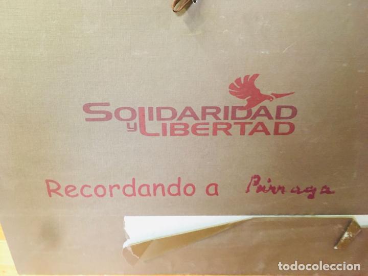 Arte: 5 serigrafias EXPOSICION RECORDANDO A PARRAGA 1999 muñoz barberan, pina nortes avellaneda hernansaez - Foto 44 - 276632263