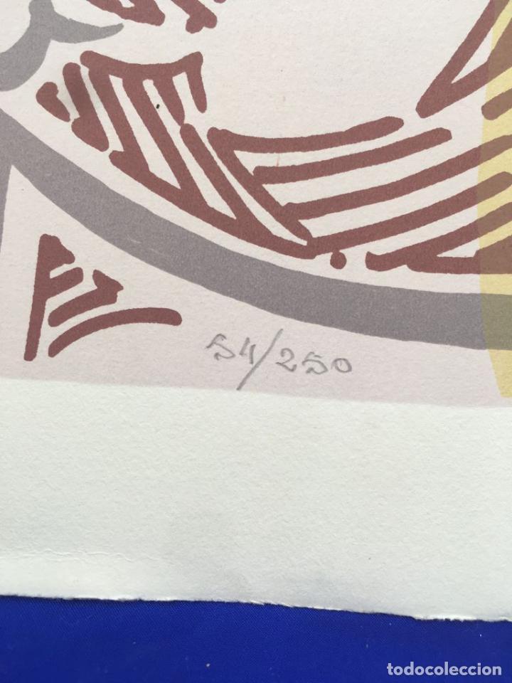 Arte: 5 serigrafias EXPOSICION RECORDANDO A PARRAGA 1999 muñoz barberan, pina nortes avellaneda hernansaez - Foto 48 - 276632263