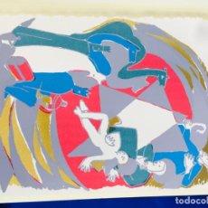 Arte: SERIGRAFIA BELEN, JUAN MARTINEZ LAX. Lote 276637768