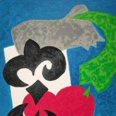Arte: JOSE DE GUIMARAES - SERIGRAFIA FIRMADA / NUMERADA. Lote 276784593
