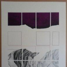 Arte: ANDRÉS TRAPIELLO ANDRÉS GARCÍA TRAPIELLO (LEÓN, 1953) SERIGRAF 1976 DE 40X48 PAPEL 50X48, FIRMA 108/. Lote 277297703