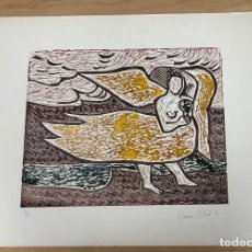 Arte: SERIGRAFIA TIRADA LIMITADA. FIRMADA A LAPICERO POR ARTISTA. AÑO 1973. Lote 278357633