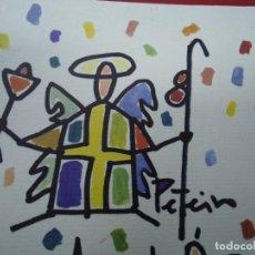 Arte: JORGE PETEIRO 2004 PRECIOSO OFSET RECUERDO MIDE 19,5 X 13,5 CM. ESTÁ BIEN CONSERVADO. Lote 279453793
