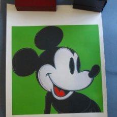 Arte: ANDY WARHOL, EDICIÓN LIMITADA MICKEY MOUSE (PICASSO BANKSY MIRÓ DALI HARING). Lote 279515003