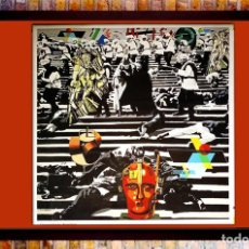 Arte: LAMINA - EQUIPO CRONICA- ACORAZADO POTENKING , EDITADA MUSEO BILBAO 2007 TAMAÑO 58X58 CM. Lote 280894068