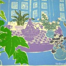 Arte: BELLA SERIGRAFIA 1984 SHEILA STAFFORD (1939). Lote 281824713