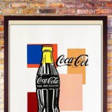 Art: ANDY WARHOL. COCA-COLA.SERIGRAFÍA EN COLOR EDT LIT NO. 56 DE 100, TAMAÑO 65 CM * 50 CM. Lote 285819343