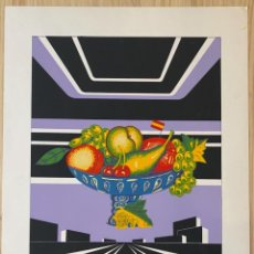 Art: ALFREDO ALCAÍN Y ÁNGEL ORCAJO-BODEGÓN EN PAISAJE URBANO. Lote 286414218