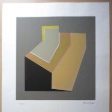 Arte: JORDI TEIXIDOR (VALENCIA 1941) SERIGRAFÍA 1974 DE 39X37 PAPEL 65X50CMS, FIRMADO Y 49/150 BUEN ESTADO. Lote 287883828