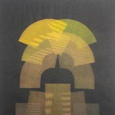 Arte: SERIGRAFÍA ORIGINAL DE EUSEBIO SEMPERE FIRMADA Y NUMERADA A MANO. Lote 288059253