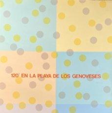Arte: MITSUO MIURA-120º EN LA PLAYA DE LOS GENOVESES. Lote 288638568