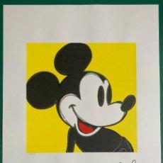 Arte: ANDY WARHOL. MICKEY MOUSE.SERIGRAFÍA EN COLOR EDT LIT Nº 15 DE 100, TAMAÑO 65 CM * 50 CM. Lote 289650598