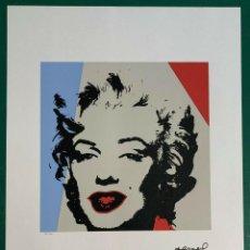 Arte: ANDY WARHOL. MARILYN MONROE.SERIGRAFÍA EN COLOR ALTA CALIDAD EDT LIT NO.33 DE 100, TAMAÑO 65 X 50 CM. Lote 290316018
