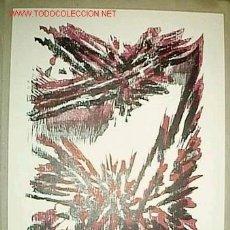 Arte: XILOGRAFIA IMPRESA CON TACOS ORIGINALES DE ALBINO FERNÁNDEZ 24 X 30,5 CM CON CARPETA EDICIÓN. Lote 49340401