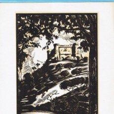 Arte: CASTILLO DE MOMBELTRÁN, ÁVILA. XILOGRAFÍA DE LOYGORRI. IMP. COMERCIAL. MADRID, SIN FECHA.. Lote 21509629