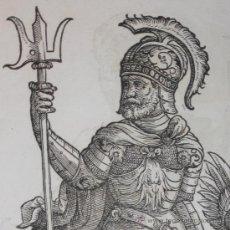 Arte: CABALLEROS DEL RENACIMIENTO DE CHRISTOPH WEIDITZ, 1580. Lote 23465748