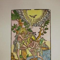 Arte: SAN JUAN BAUTIZANDO A JESÚS. BAUTISMO DE JESUCRISTO.. Lote 25951535